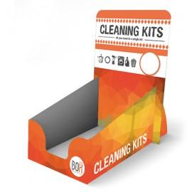 Présentoir de kits nettoyage